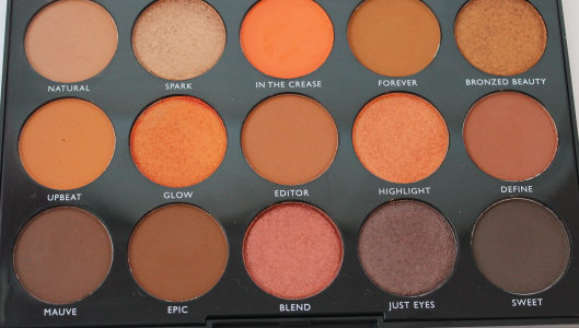 Morphe Day Slayer palette review